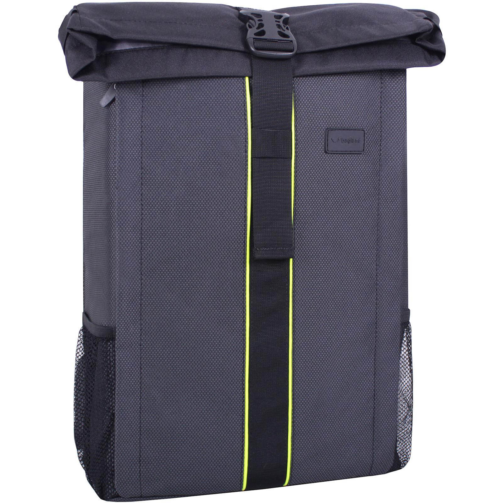Мужские рюкзаки Рюкзак для ноутбука Bagland Roll 21 л. Чёрный (00156169) IMG_3471.jpg