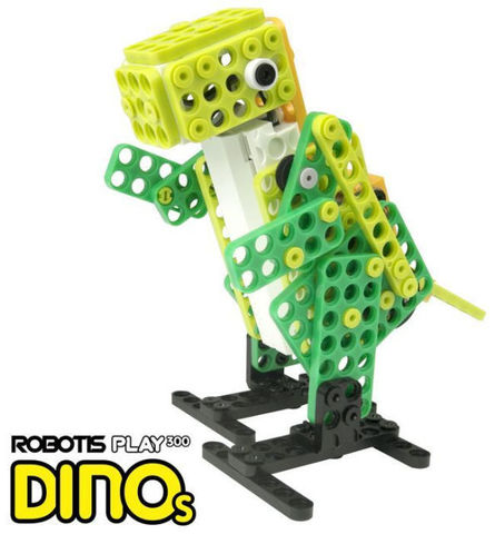 Робототехнический набор ROBOTIS play 300 Dinos (Динозавры)