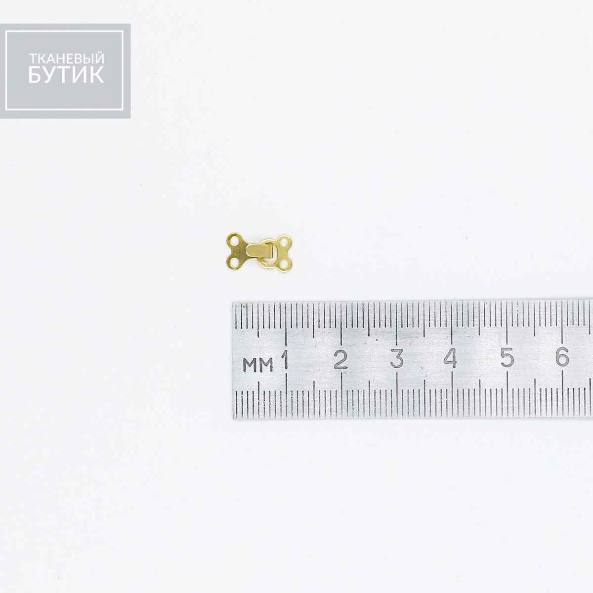 Плоский металлический крючок