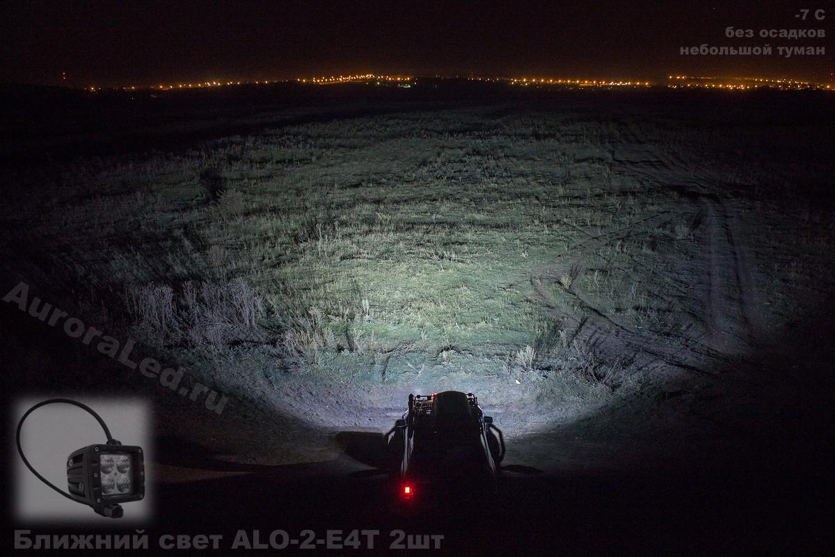 Фара Aurora 2 ближнего белого света ALO-2-E4T ALO-2-E4T