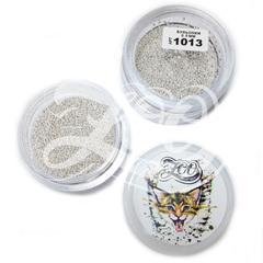 Бульонки металлические серебро 0.8 мм (10 г)
