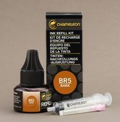 Чернила для маркеров Chameleon коричнево-болотные BR5, 25 мл