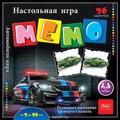 МЕМО 36 карточек Автомобили мира