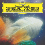 Berlin Philharmonic, Herbert von Karajan / Jacques Offenbach: Overtures (LP)