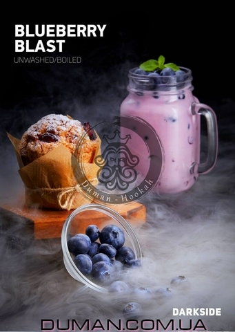 Табак Dark Side Blueberry Blast (Дарк Сайд Черника) |20г