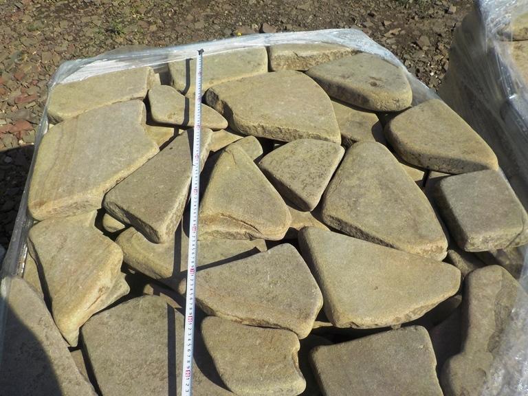 Песчаник галтованный Ручейник Серый
