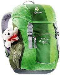 Рюкзак детский Deuter Schmusebar зеленый