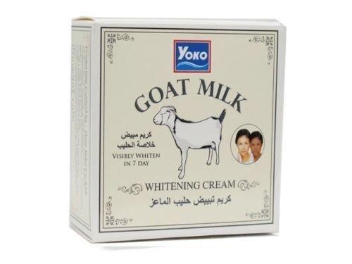 Yoko Отбеливающий крем с Козьим молоком Goat Milk Cream, 4 г