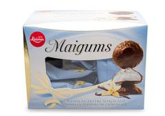 Зефир с ванильным вкусом в глазури из темного шоколада, 185г
