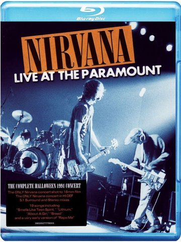 Nirvana / Live At The Paramount (Blu-ray)