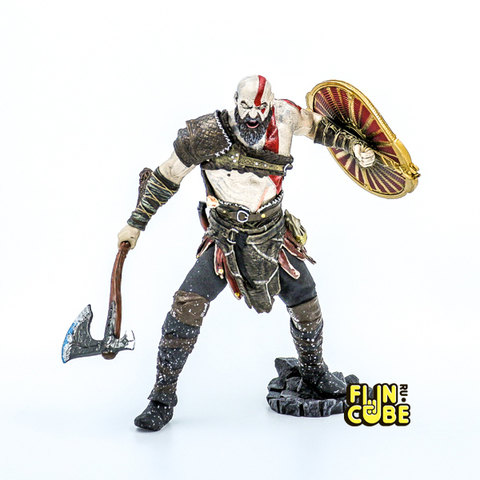 Миниатюра God of War Kratos 23см