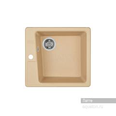 Мойка Акватон Парма 1A713032PM260 для кухни из искусственного камня, латте