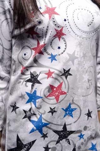 Женский пуловер Stars Cactus Bay. Made in USA