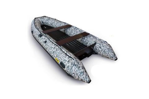 Лодка надувная моторная SOLAR 420 STRELA Jet тоннель