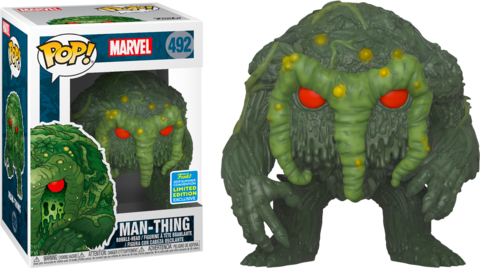Фигурка Funko Pop! Marvel: The Man-Thing - Man-Thing (Excl. to San Diego Comic Con 2019)