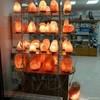 Солевая лампа Дыня открытая витрина в Москве