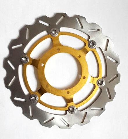 Передние тормозные диски (2 шт.) для Honda CBF 600 2004 >