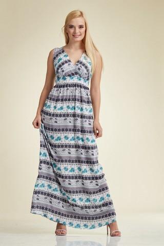 Платье для беременных 06185 цветной
