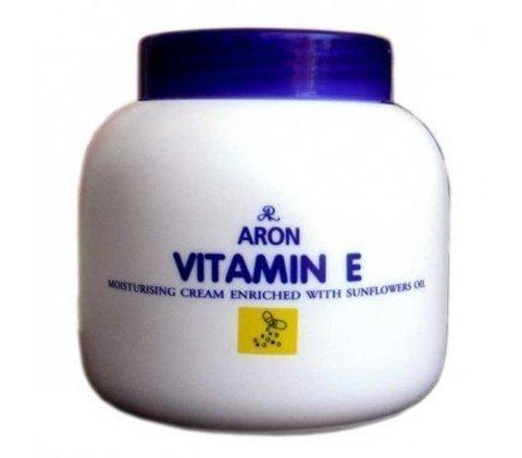 Aron Увлажняющий крем для лица с Витамином Е и Маслом Подсолнечника Vitamin E Cream, 200 мл