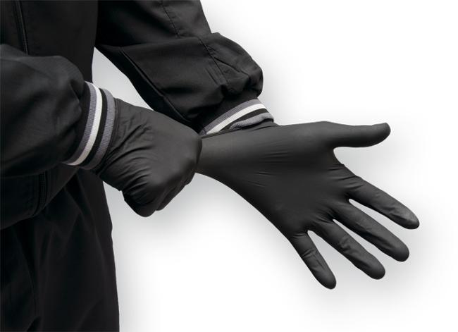 Одноразовые резиновые перчатки (коробка-100 штук)