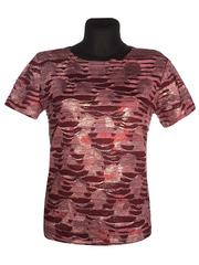 3306-1-10 футболка женская, красная