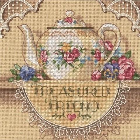 Кружевной чайник