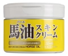 Крем для тела увлажняющий c лошадиным маслом Loshi Moisture Skin Cream Horse Oil 220г