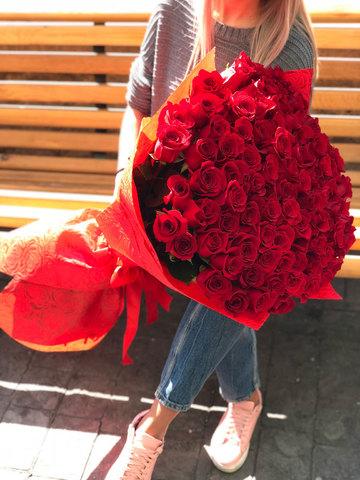 101 метровая роза!