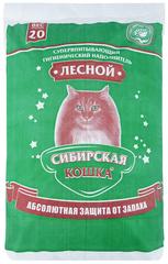 Наполнитель для кошек, Сибирская Кошка древесный