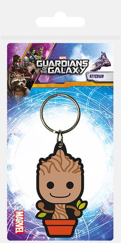 Брелок силиконовый Guardians of the Galaxy Малыш Грут