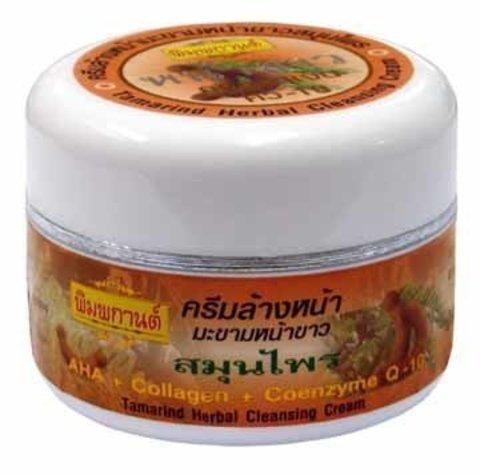 Thanyaporn Крем для лица с тамариндом и коллагеном Tamarind Facial Cleansing Cream Plus Herbs, 40 гр