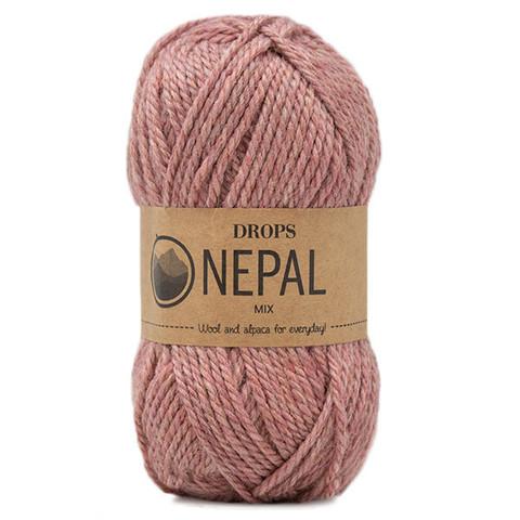 Пряжа Drops Nepal 8912 амарант меланж