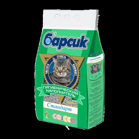 Барсик Стандарт Наполнитель для туалета кошек впитывающий