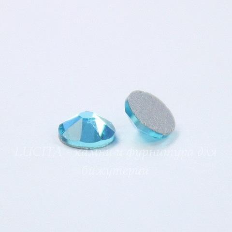 2088 Стразы Сваровски холодной фиксации Light Turquoise ss 20 (4,6-4,8 мм), 10 штук