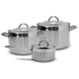 Набор посуды ЕВРОПА 3 предмета, артикул 632123BM0217, производитель - Silampos