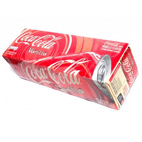 Газировка Coca-Cola Vanilla (12 банок)