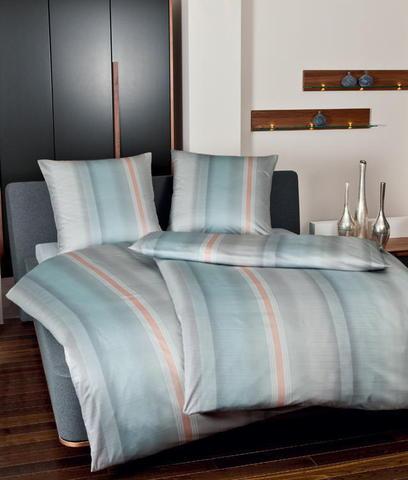Постельное белье 2 спальное евро Janine Messina 4749 sternblau-silber-koralle