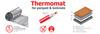 Thermo Нагревательный мат под ламинат Thermomat (термомат) for parquet & laminate TVK-130 LP 1 м.кв