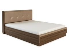 Кровать ИРАКЛИЯ-1600 с мягкой спинкой и подъемным механизмом