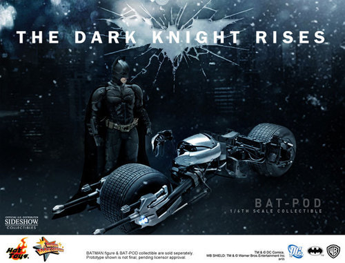 The Dark Knight Bat-pod 1/6 Scale