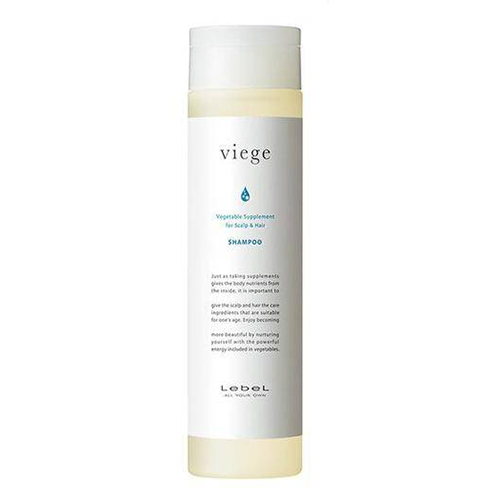 Lebel Viege Shampoo - Восстанавливающий шампунь