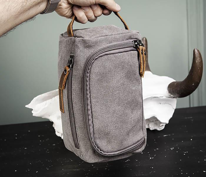 BAG480-3 Дорожный мужской несессер из текстиля фото 10