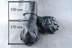 Бондажные руковицы