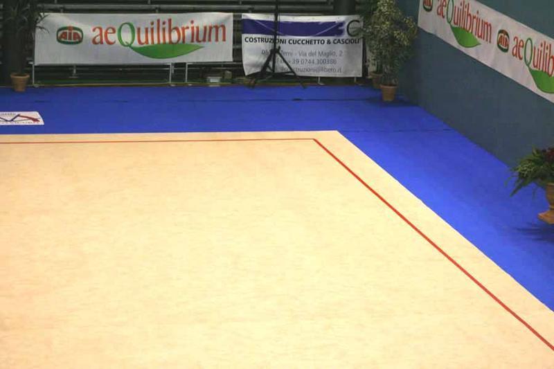 Ковер для художественной гимнастики (тренировочный) 14х14х0,030м.