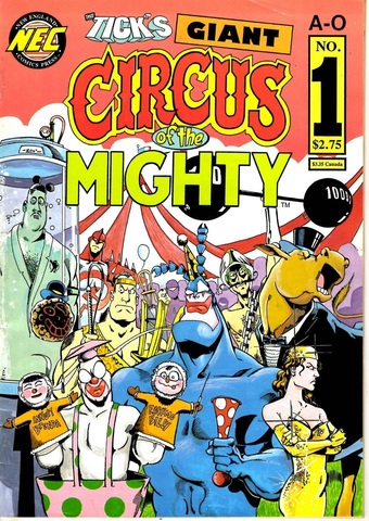 The Tick's Giant Circus of the Mighty #1