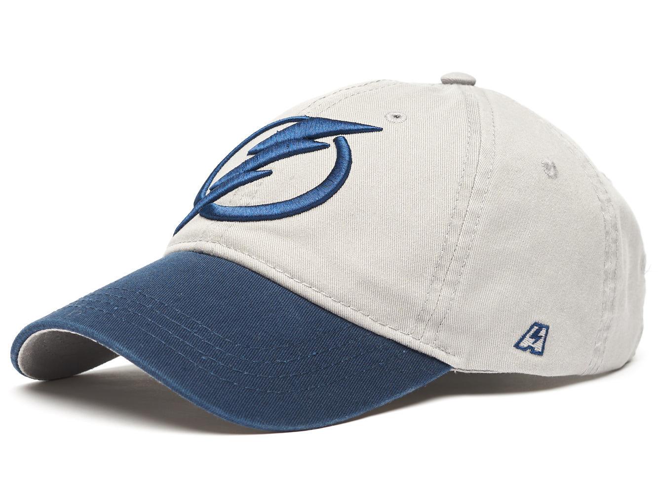 Бейсболка NHL Tampa Bay Lightning серая