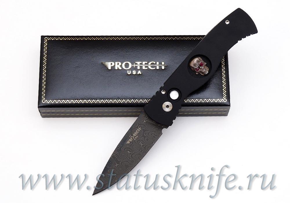 Нож Pro-Tech TR-2 Custom Damascus