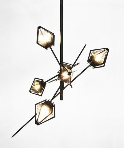 HARLOW Chandelier by Scott Gabriel ( medium )