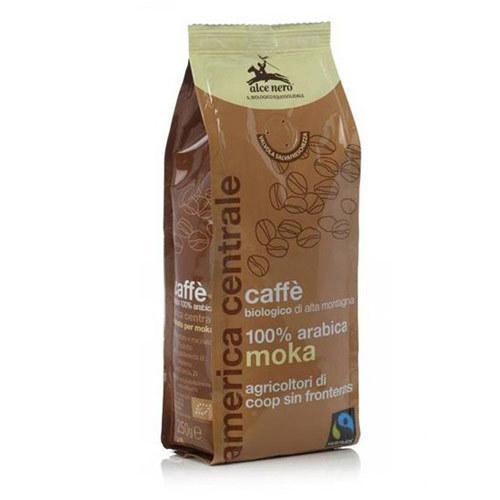 Кофе натуральный, Alce Nero, жареный молотый