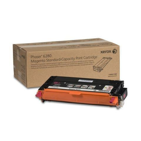 XEROX Phaser 6280 magenta тонер картридж стандарт 106R01389